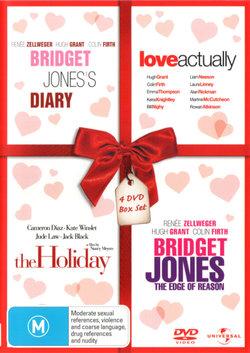Bridget Jones's Diary / Love Actually / The Holiday / Bridget Jones: The Edge of Reason (4 DVD Box Set)