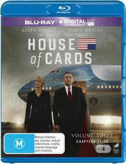 House of Cards: Season 3 (Volume 3: Chapters 27 - 39) (Blu-ray/UV)