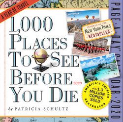 2020 1,000 Places to See Before You Die Colour Page-A-Day Calendar