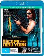 Escape from New York (1981) (John Carpenter's) (Classics Remastered)