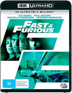 Fast & Furious 4 (4K UHD/Blu-ray)