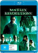 The Matrix: Revolutions (Blu-ray/UV)