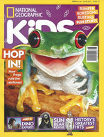 National Geographic Kids - 12 Month Subscription - Note: Does not come with the free gifts available on the newsstand copies.