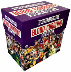 Horrible Histories Blood Curdling Box Purple Edition