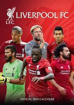 Liverpool Official 2019 A3 Wall Calendar