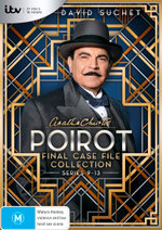 Agatha Christie: Poirot - Final Case File Collection (Series 9 - 13)