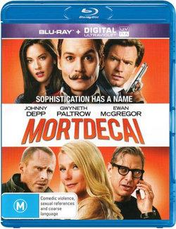 Mortdecai (Blu-ray/UV)