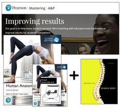 Human Anatomy and Physiology, Global Edition + A Brief Atlas of the Human Body + Mastering A&P with eText (11e)