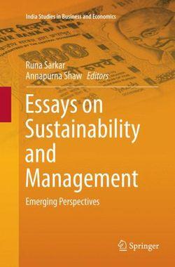 Essays on Sustainability and Management