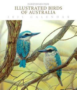 Illustrated Birds of Australia - 2021 Deluxe Wall Calendar