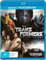 Transformers: The Last Knight (Blu-ray/Blu-ray Bonus Disc)