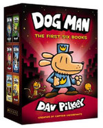 Dog Man: The First Six Books Boxed Set