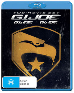 G.I. Joe: The Rise of the Cobra (2009) / G.I. Joe: Retaliation (2013) (Blu-ray)