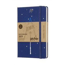 Moleskine 2019 Weekly Pocket Notebook Limited Edition Harry Potter Hardcover Blue