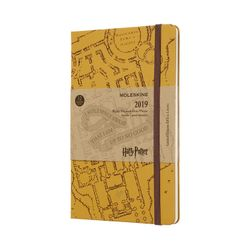 Moleskine 2019 Weekly Notebook Limited Edition Harry Potter Hardcover Beige