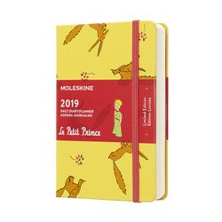 Moleskine 2019 Daily Pocket Diary Limited Edition Le Petit Prince Hardcover Yellow Sunflower