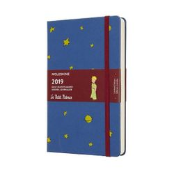 Moleskine 2019 Daily Diary Planner Limited Edition Le Petit Prince Hardcover Blue