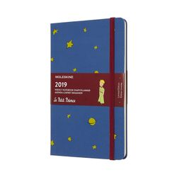 Moleskine 2019 Weekly Notebook Limited Edition Le Petit Prince Hardcover Blue Antwerp