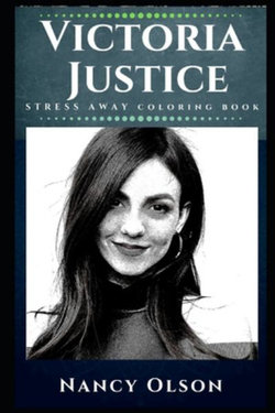Victoria Justice Stress Away Coloring Book