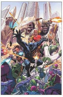 Empyre: The Invasion Of Wakanda