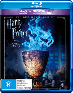 Harry Potter and the Goblet of Fire (Year 4) (Two-Disc Special Edition) (Blu-ray/UV)