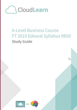 CL2. 0 CloudLearn a-Level FT 2015 Business 9BS0 V2