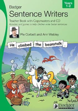 Sentence Writers Teacher Book with Copymasters and CD: Years 1-2