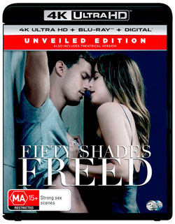 Fifty Shades Freed (Unveiled Edition) (4K UHD / Blu-ray / Digital)