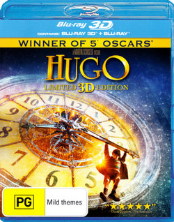 Hugo (Limited 3D Edition) (3D Blu-ray/Blu-ray)
