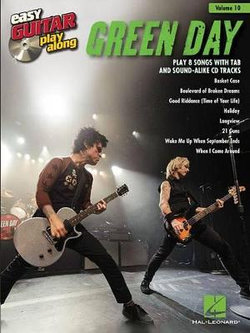 Green Day Easy Guitar Play-Along Vol.10
