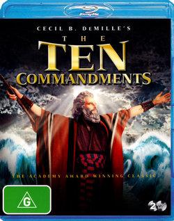 The Ten Commandments (Cecil B. DeMille's) (1956)