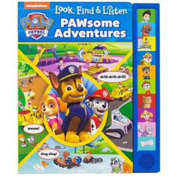 Paw Patrol Look Find and Listen Sound Book - O/P