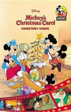 Mickeys Christmas Carol.Disney Mickey S Christmas Carol Cinestory Comic