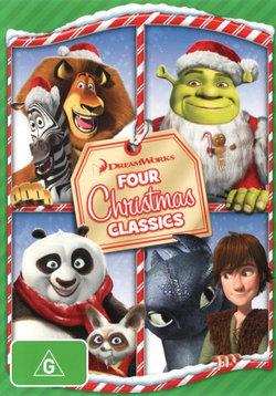 DreamWorks: Four Christmas Classics (Merry Madagascar / Kung Fu Panda Holiday / Shrek the Halls / Dragons: Gift of the Night Fury)
