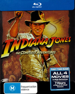 Indiana Jones: The Complete Adventures (The Raiders of the Lost Ark / The Temple of Doom / The Last Crusade / The Kingdom of the Crystal Skull)