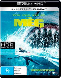 The Meg (4K UHD / Blu-ray)