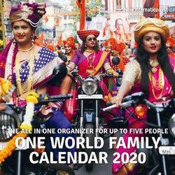 One World Family Calendar 2020