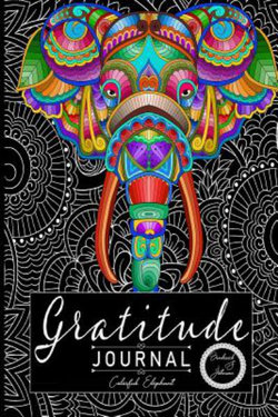 Gratitude Journal: Colorful Elephant