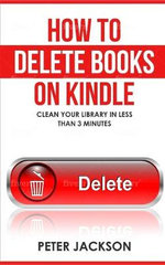 How to Delete Books on Kindle