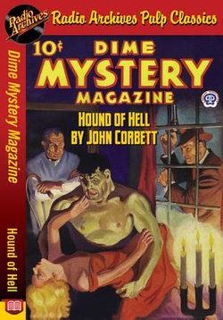 Dime Mystery Magazine - Hound of Hell