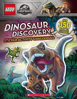 Lego Jurassic World - Sticker Activity Book