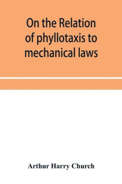 On the relation of phyllotaxis to mechanical laws