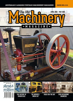 The Old Machinery Magazine - 12 Month Subscription