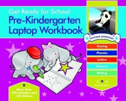 Get Ready For School Pre-Kindergarten Laptop Workbook