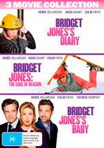 Bridget Jones's Diary / Bridget Jones: The Edge of Reason / Bridget Jones's Baby (3 Movie Collection)