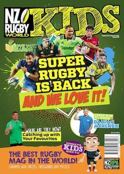NZ Rugby World Kids (NZ) - 12 Month Subscription
