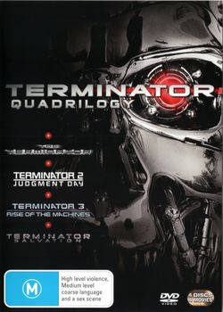 Terminator Quadrilogy (Terminator / Terminator 2: Judgment Day / Terminator 3: Rise of The Machines / Terminator Salvation)