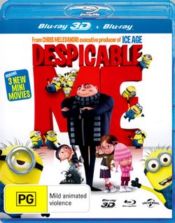 Despicable Me (3D Blu-ray/Blu-ray)