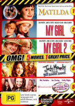 American Girl: Shooting for the Stars / Judy Moody and the Not Bummer Summer / Matilda / My Girl / My Girl 2 (5 Movies 3 Discs) (OMG)