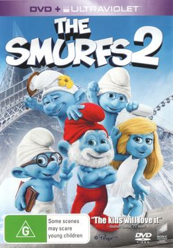 The Smurfs 2 (DVD/UV)